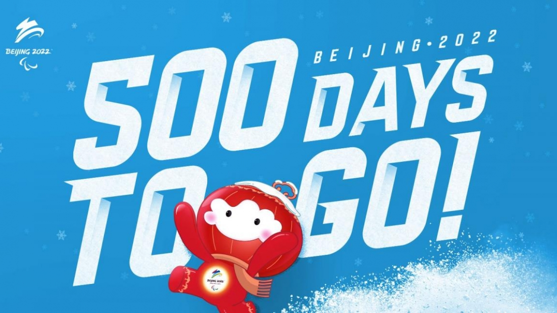 Beijing 2020 500 day to go