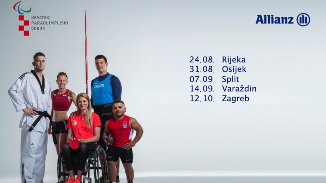 Sportska Hrvatska Projekt ParaBOX krece na putovanje Hrvatskom promovirajuci paraolimpijski sport
